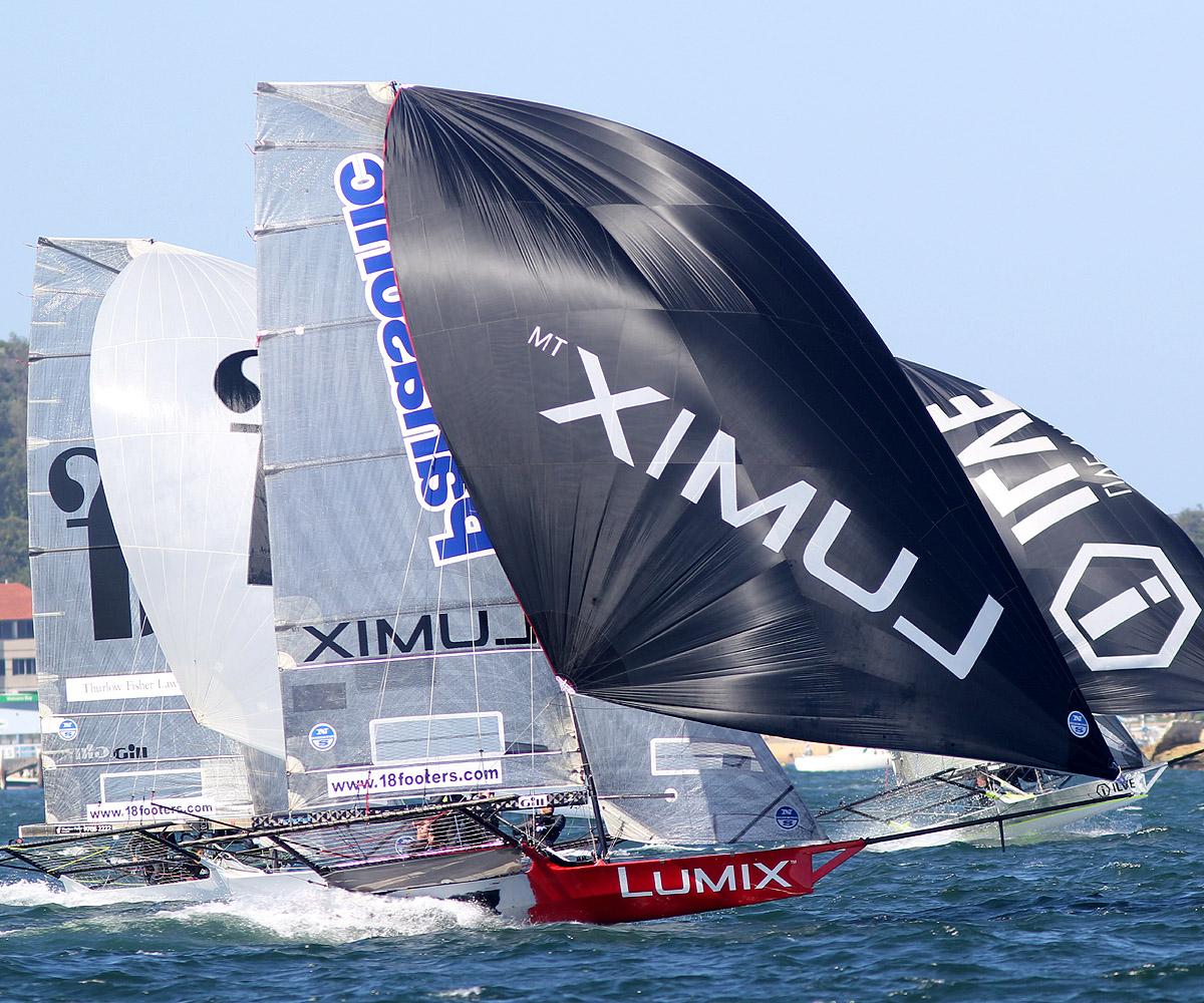 Lumix finished third
