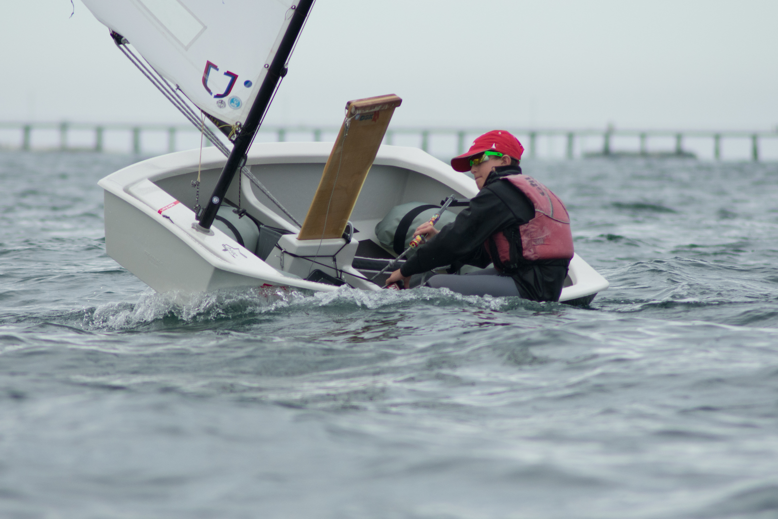 Challenging winds on opening day of SA Youths