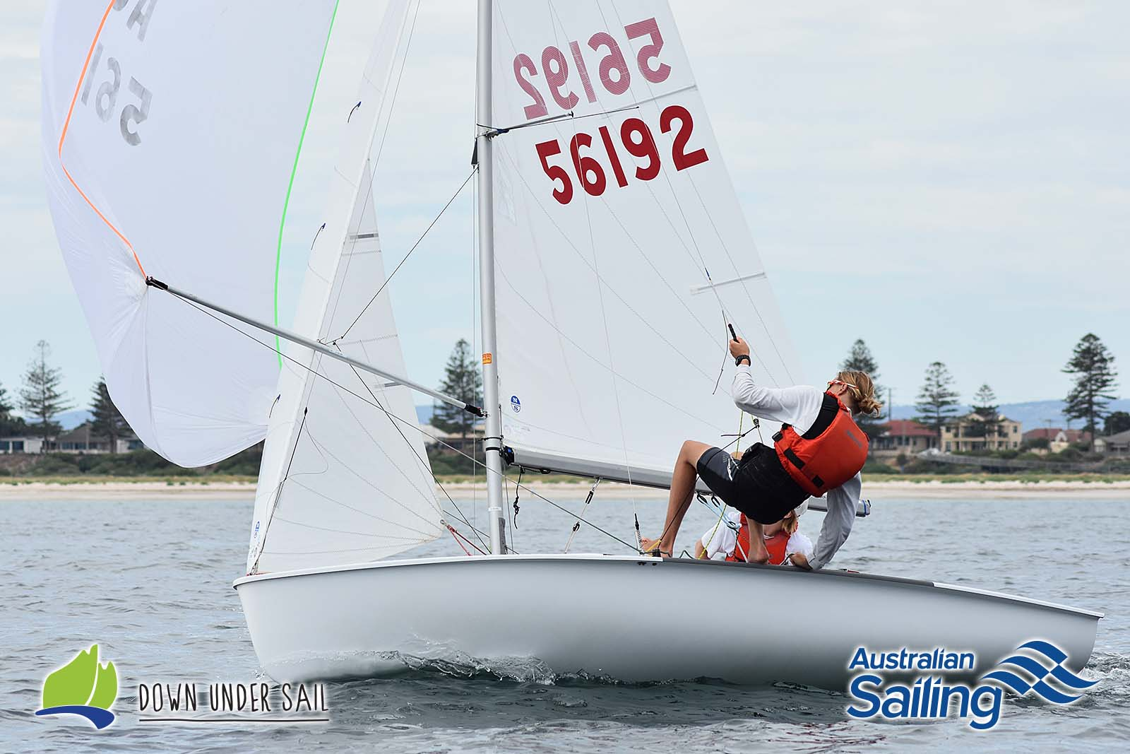 Matt Meaney and Sam Magarey were the overall winners in the 420 fleet.