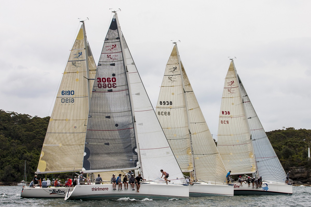 Sydney 38's ready to blast off at Sydney Harbour Regatta