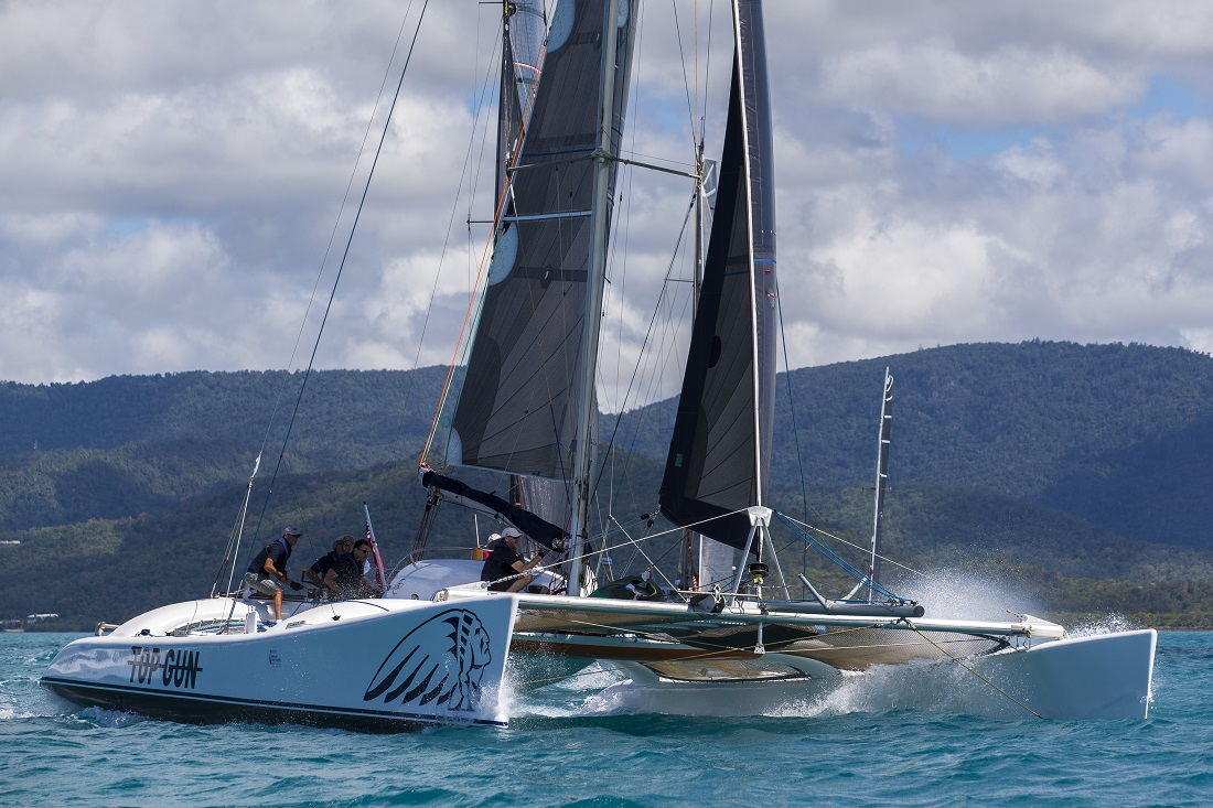 SAILING - Airlie Beach Race Week 2016 12/8/2016 Airlie Beach, Queensland ph. Andrea Francolini TOP GUN