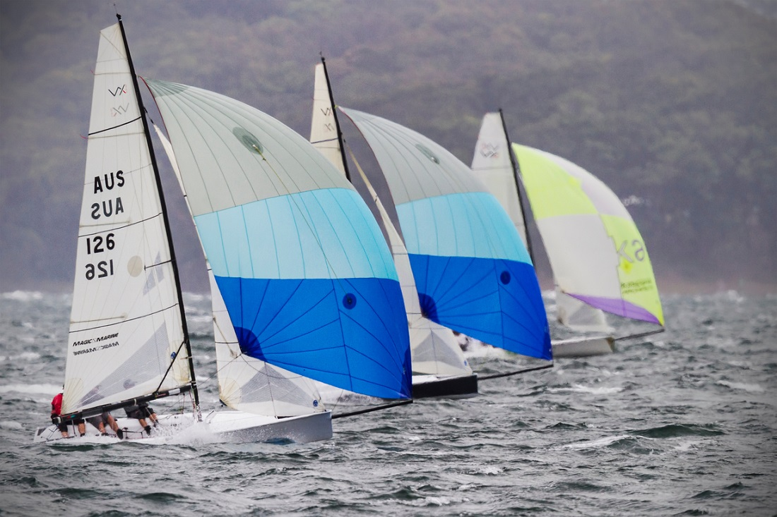 VX Ones fly downwind - Beth Morley pic low res