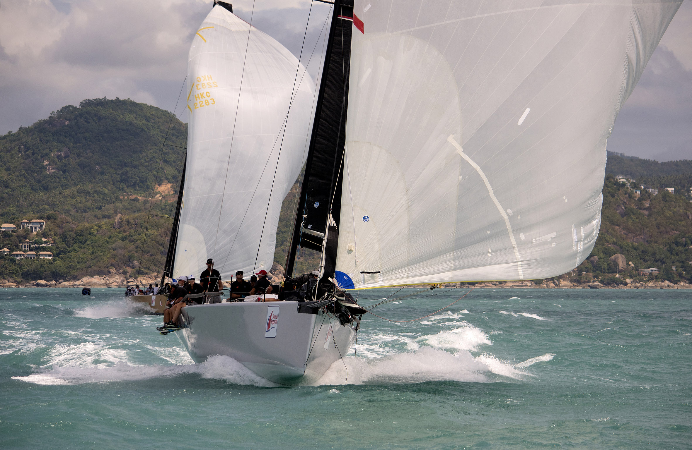 International fleet line-up for 16th Samui Regatta