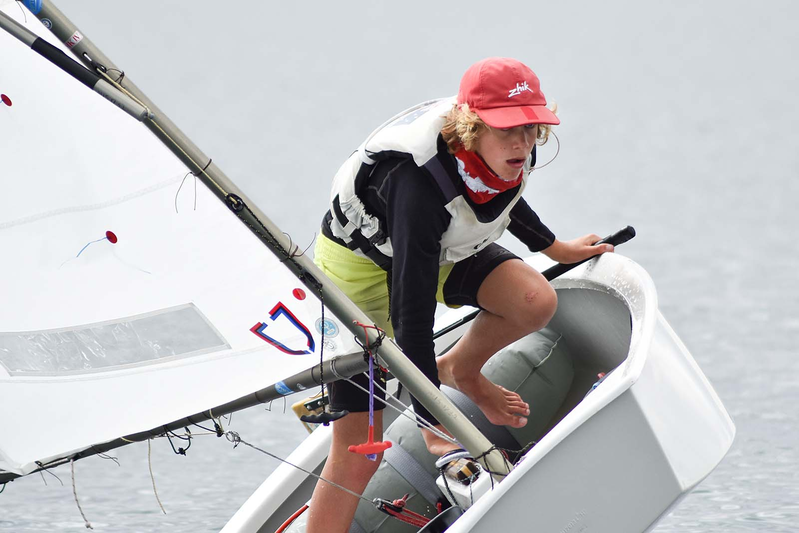 Jonas Barrett finished fifth overall in the Open Fleet. Photos: Down Under Sail
