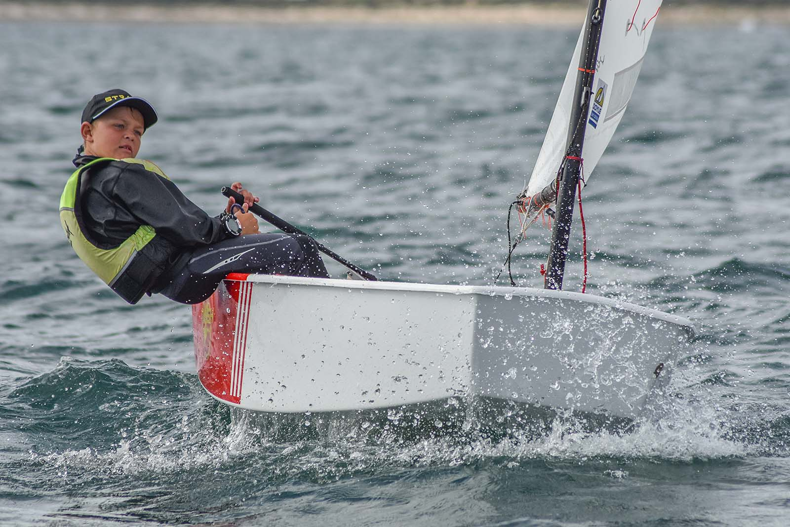 Murphy Cowen finished fourth overall in the Intermediate Fleet.