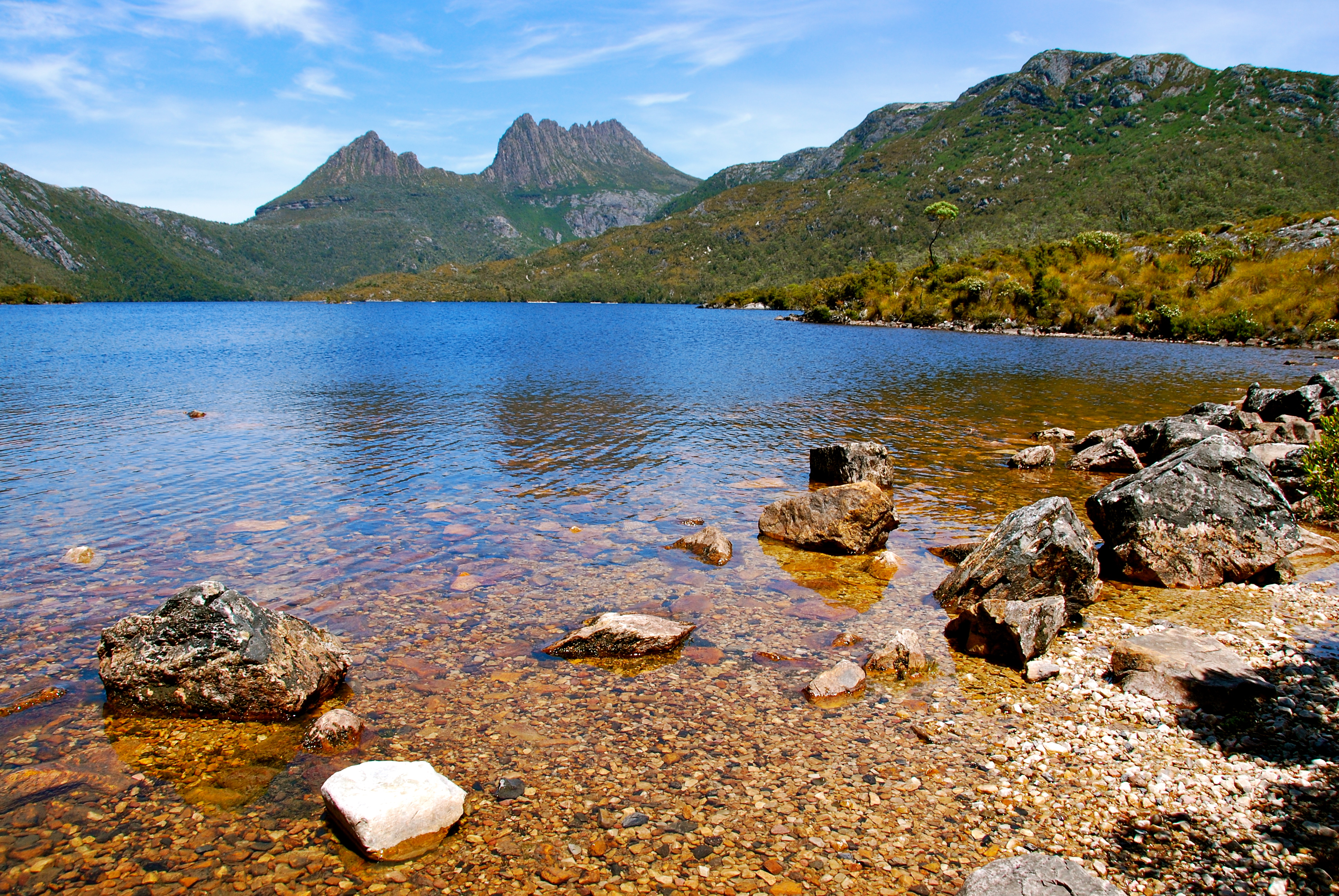 Some of Tasmania's picturesque views. Photo: Mary Tulip