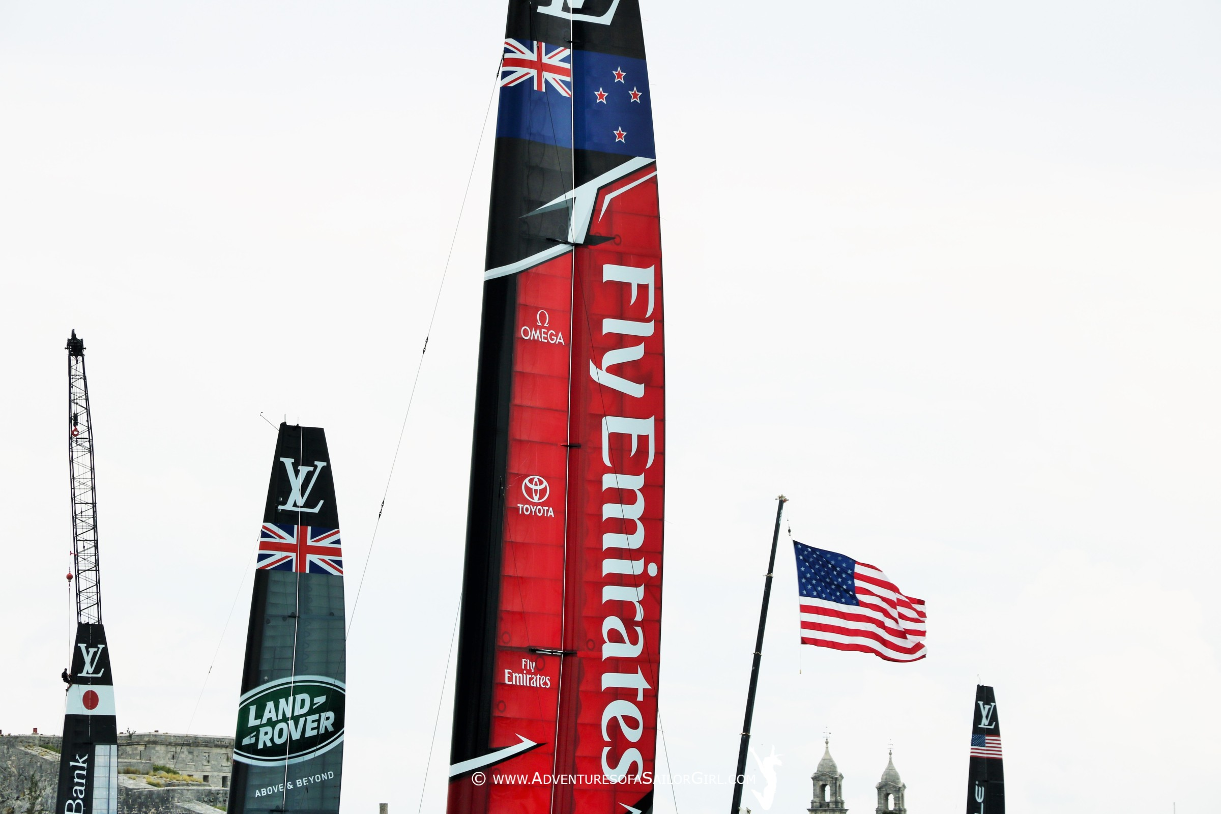 America's Cup | Emirates Team NZ are the Challengers | VIDEOS