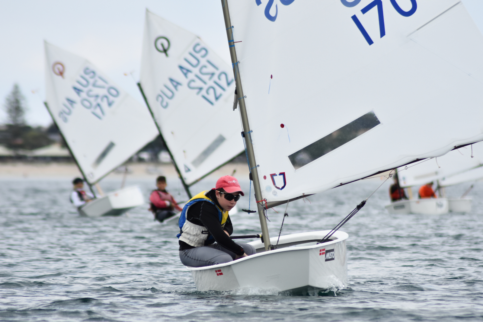 71-boat fleet hits Goolwa for SA Optimist Frostbite Regatta