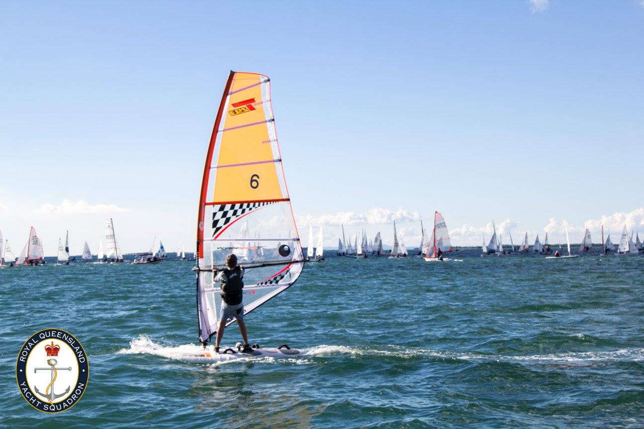 Musto Queensland Youth Week sees big fleet on the water | VIDEOS