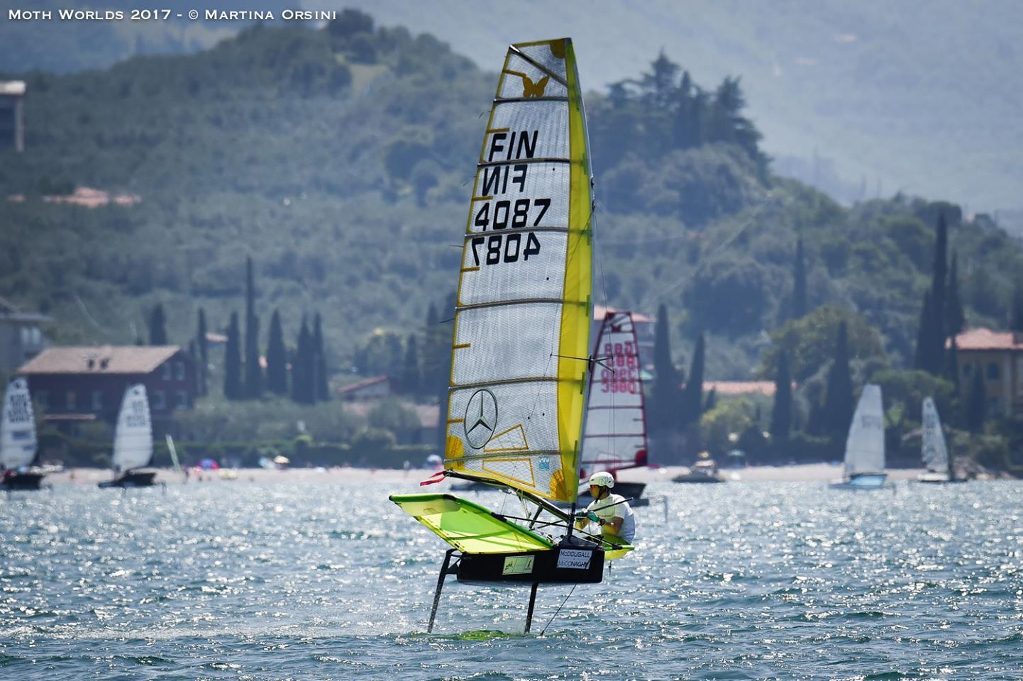 Finals heating up at Moth Worlds