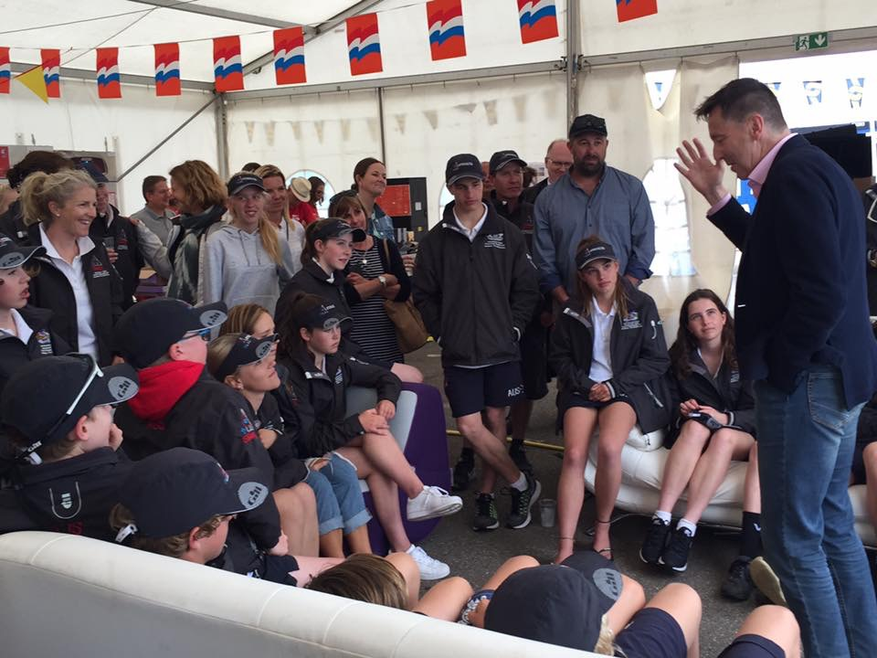 Cadet Worlds   Bully's Blog #3 – A special visitor meets the team