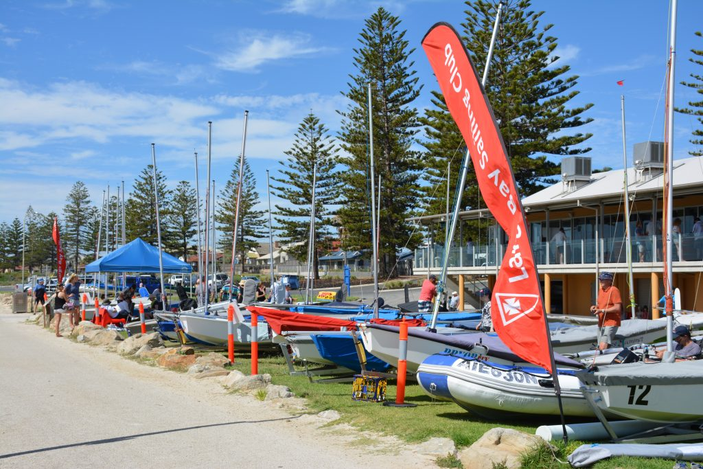 We think clubs are the key to driving the sport forward. Photo: Down Under Sail