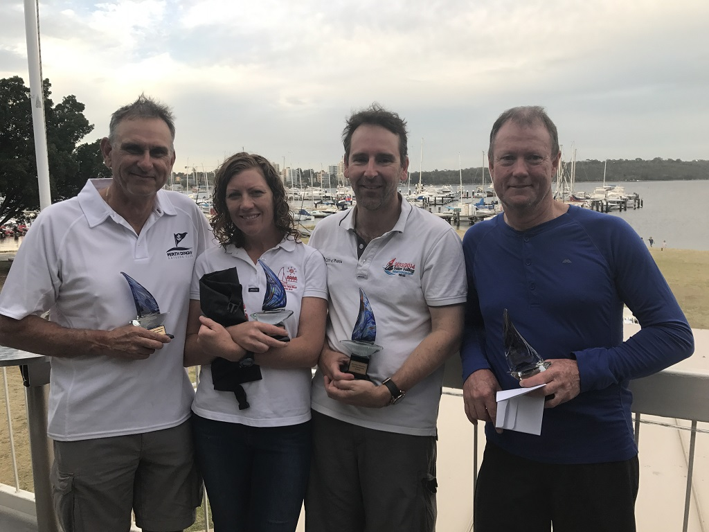 Sabres enjoy varied conditions for WA states on Swan River