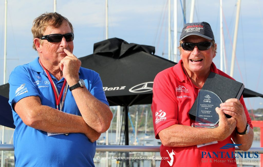 Ross and Kevin Wilson were the race officers for the event.