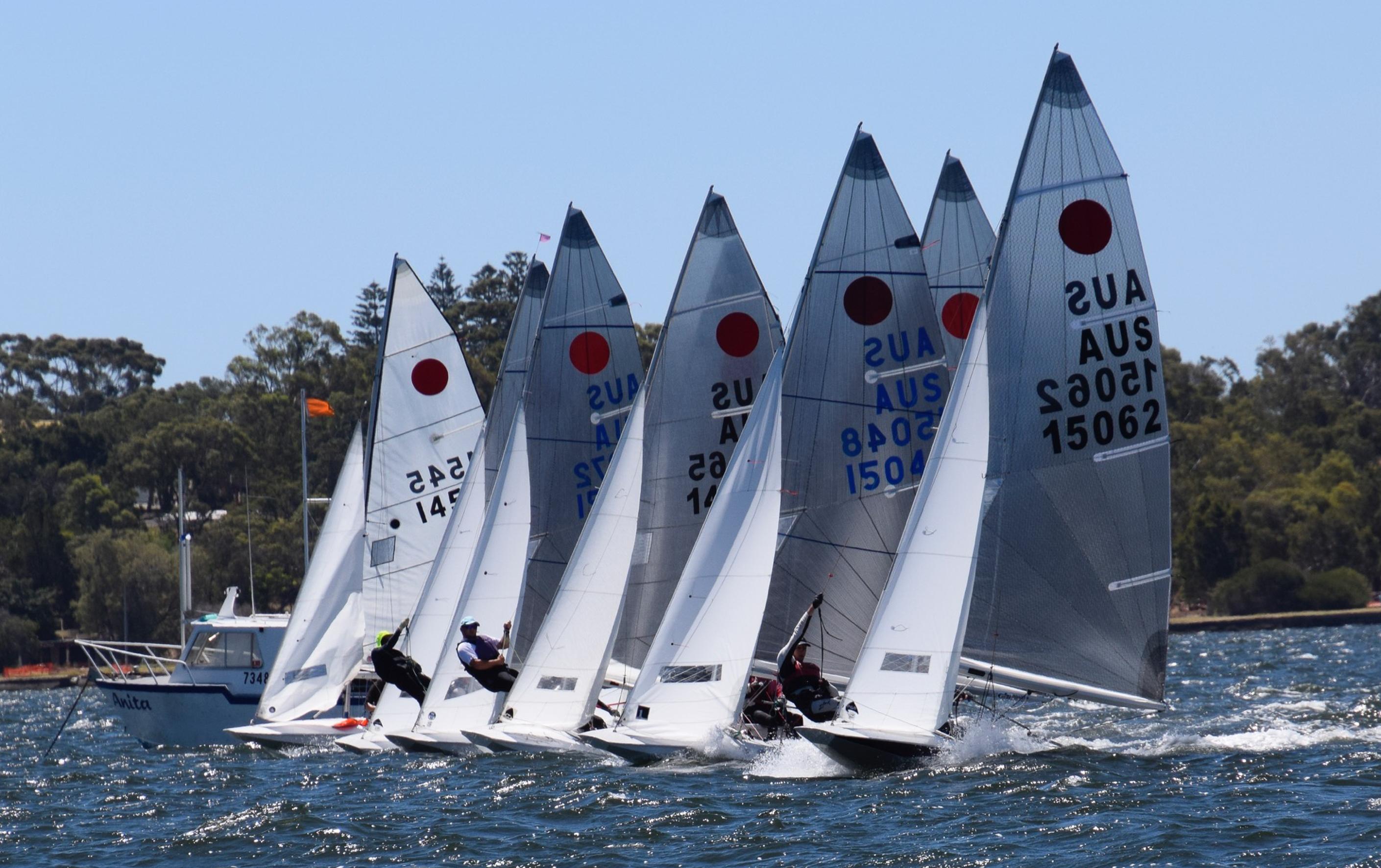 When two boats go to war | Australian Fireball Championship