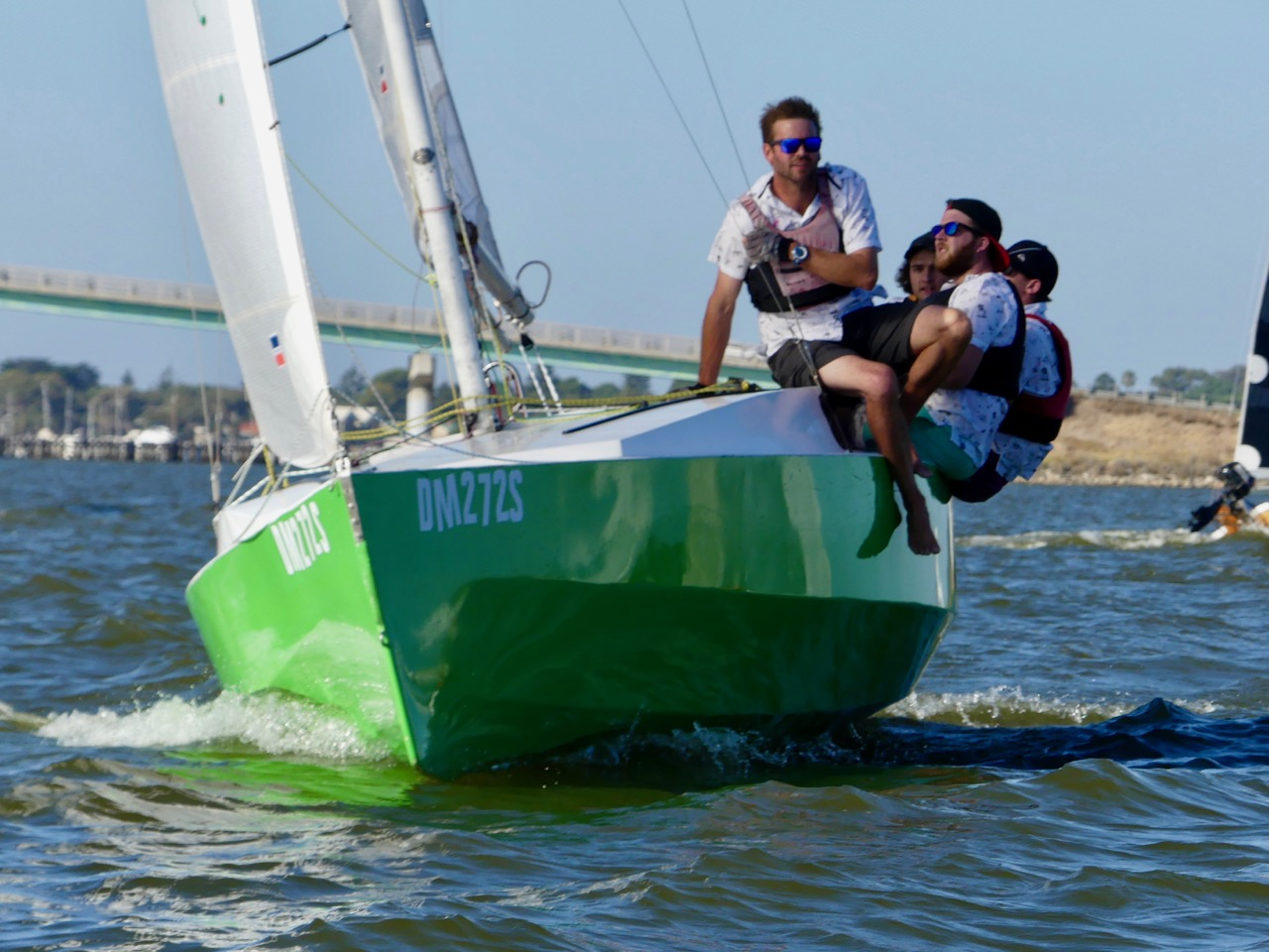 Intensity lifts during Dash for Cash racing | Goolwa Regatta Week