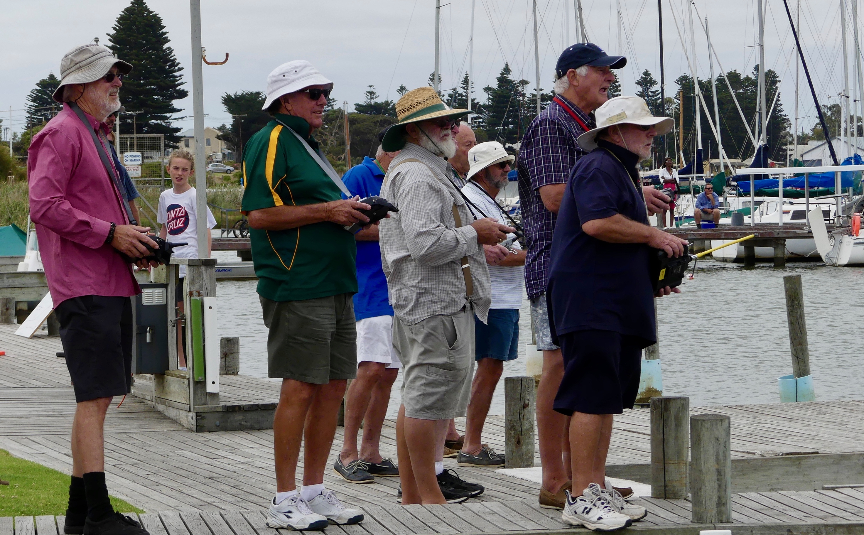 Radio-controlled yachts take over club marina | Goolwa Regatta Week