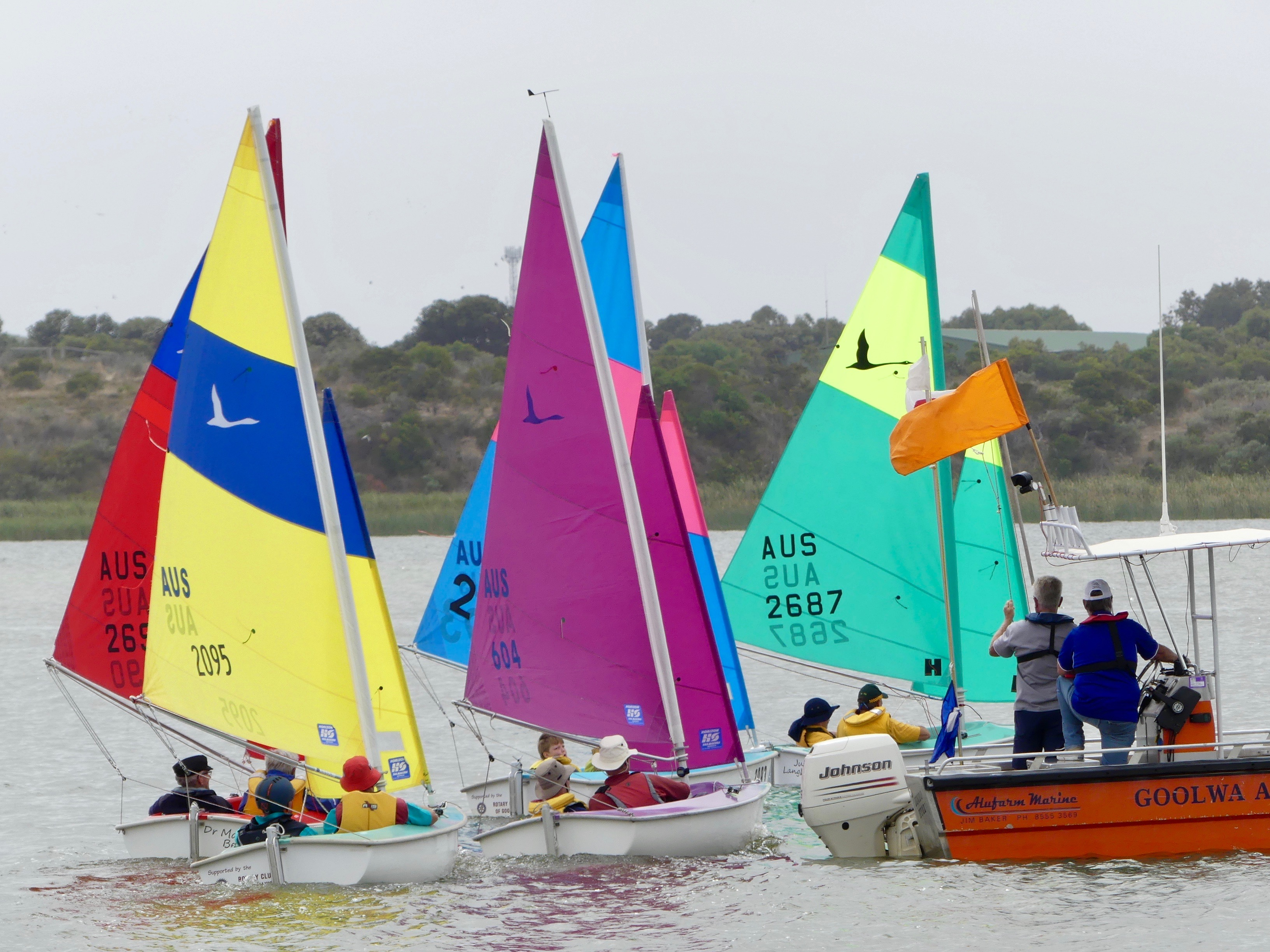 Sailors of all abilities celebrated on Gala Day | Goolwa Regatta Week