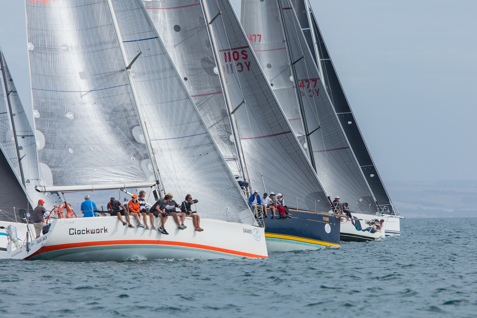 Smaller boats dominate in extremely light long race | Teakle Classic