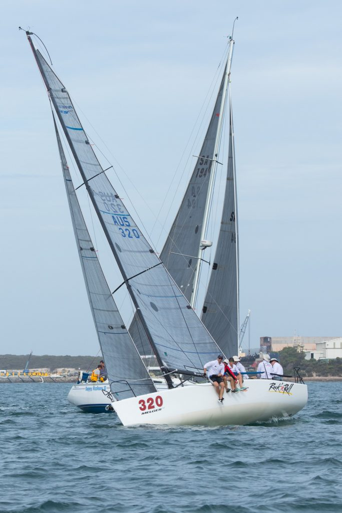 Rock N' Roll sailed well in division two. Photos: Take 2 Photography
