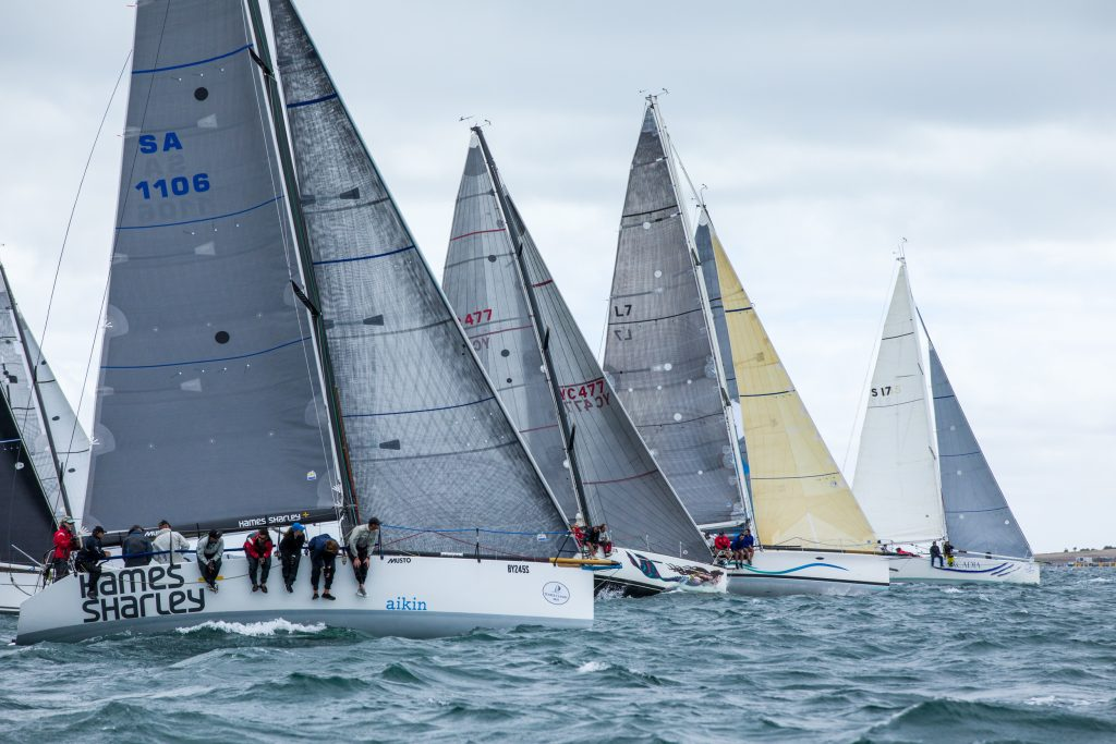 Division one racing off the start line. Photos: Take 2 Photography