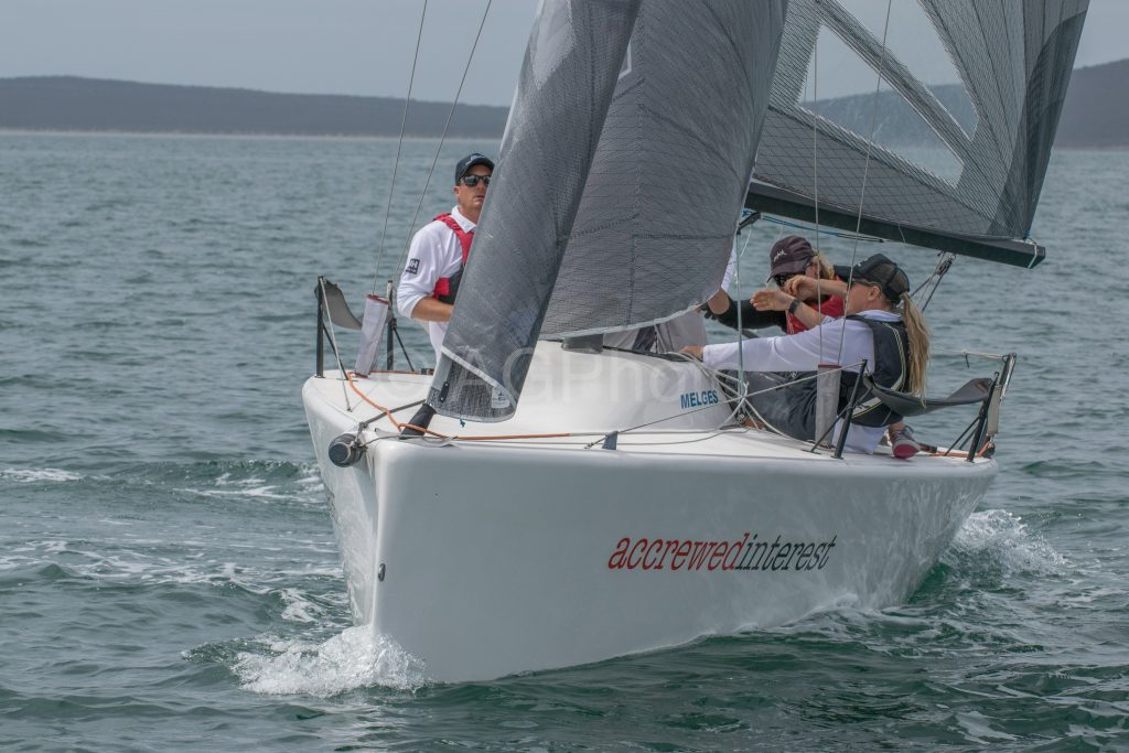 Reigning champion Andy Wharton in Accrewed Interest. Photos: Ally Graham