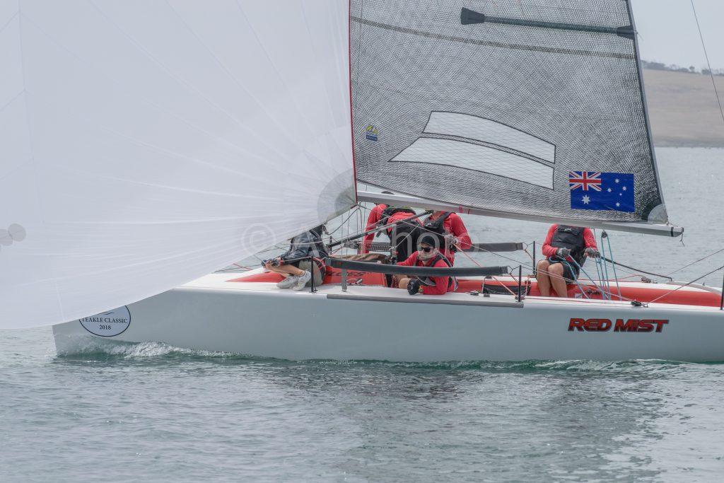 Robbie Deussen's Red Mist was a solid performer. Photos: Ally Graham