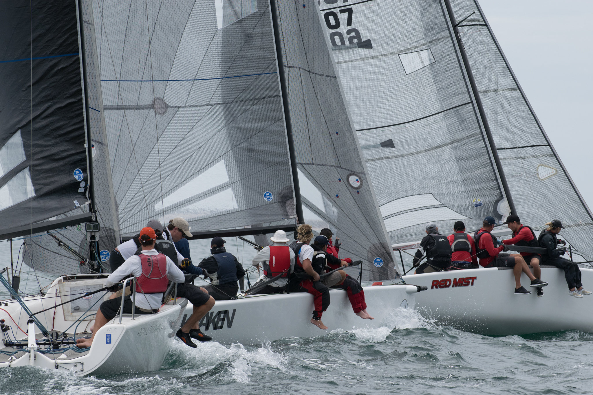 Higgins takes out title with a day to spare | Melges 24 Nationals