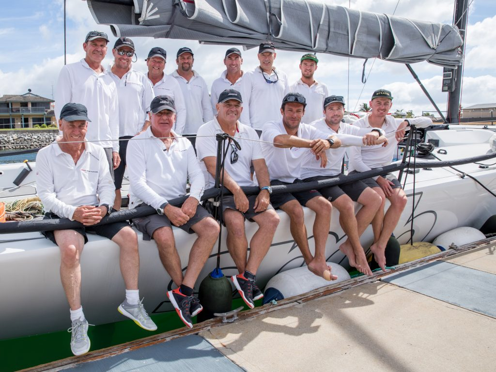 The winning line honours team after the race. Photos: Take 2 Photography