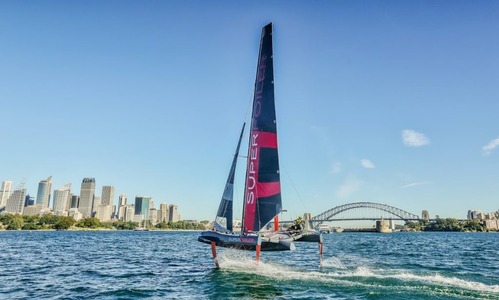 The SuperFoiler Grand Prix has taken sailing by storm in the last year. Photo: Michael Chittenden
