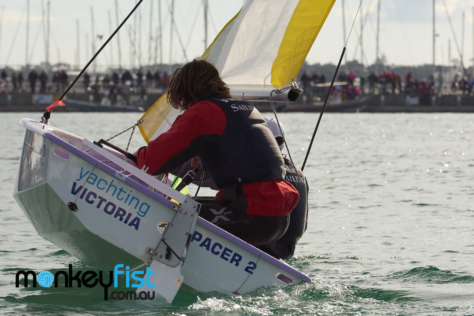 Friends School flexes its muscle on day two | Team Sailing Nationals