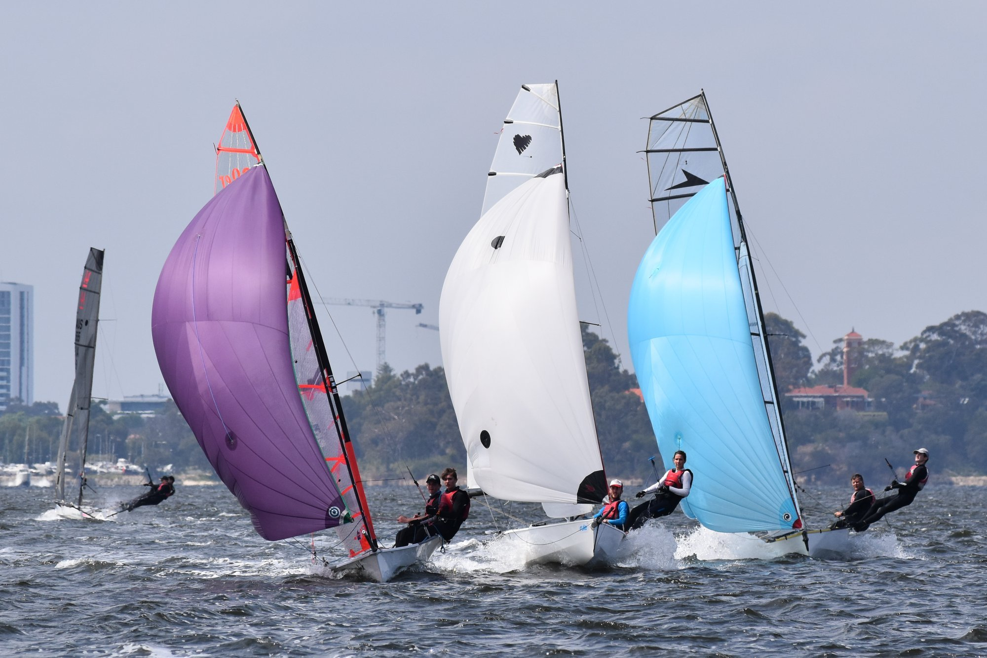 Successful event for Perth Waters Coaching Regatta