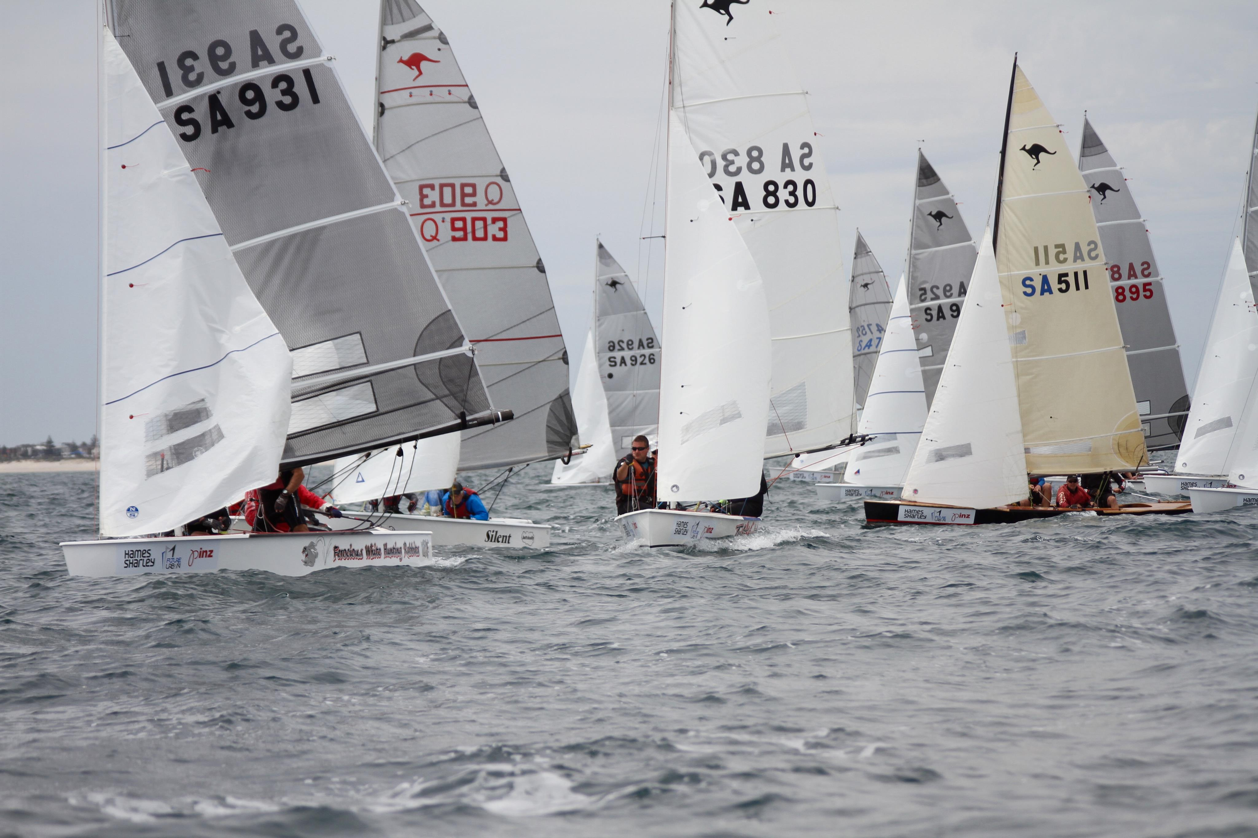 72 Sharpies hit the start line for opening races