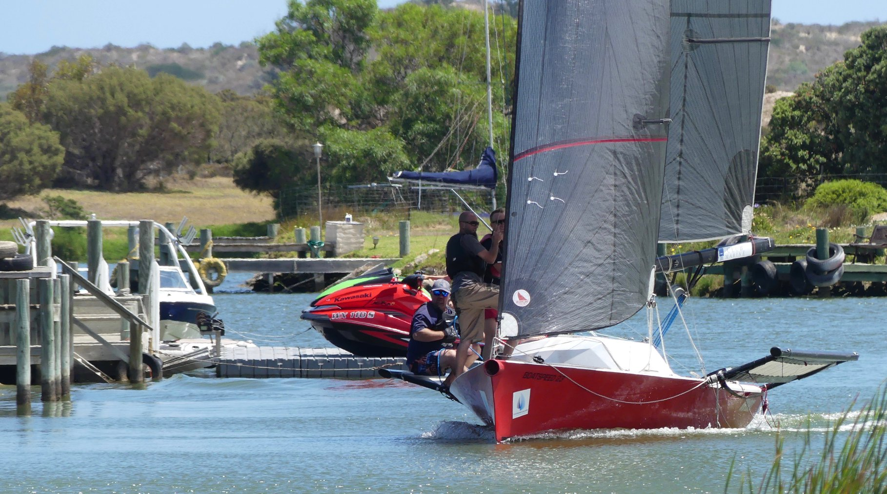 Marina Challenge sets the scene for exciting regatta week