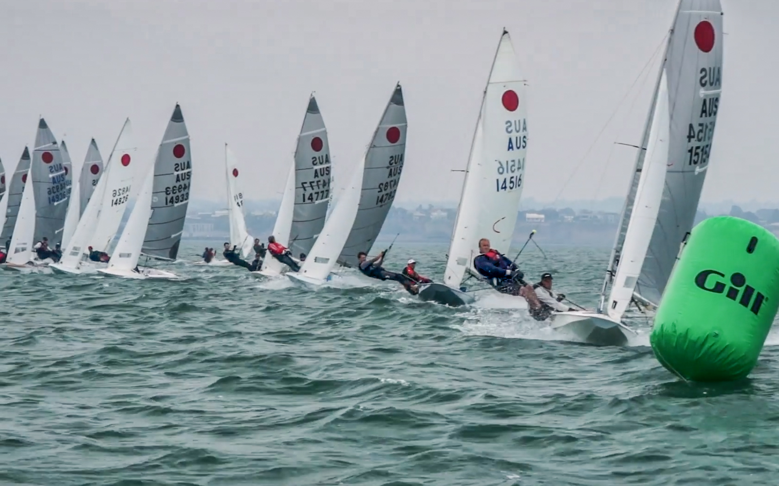 Shifty weather shakes things up on second day of Fireball Nationals