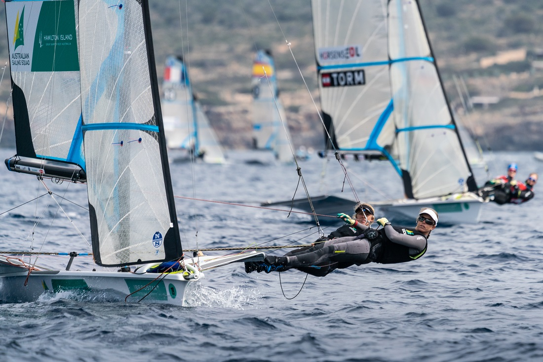 Australian 49ers off to a good start at Princess Sofia Trophy