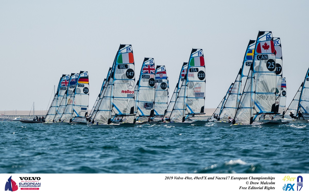 Mixed conditions produce mixed results for Australians in Weymouth