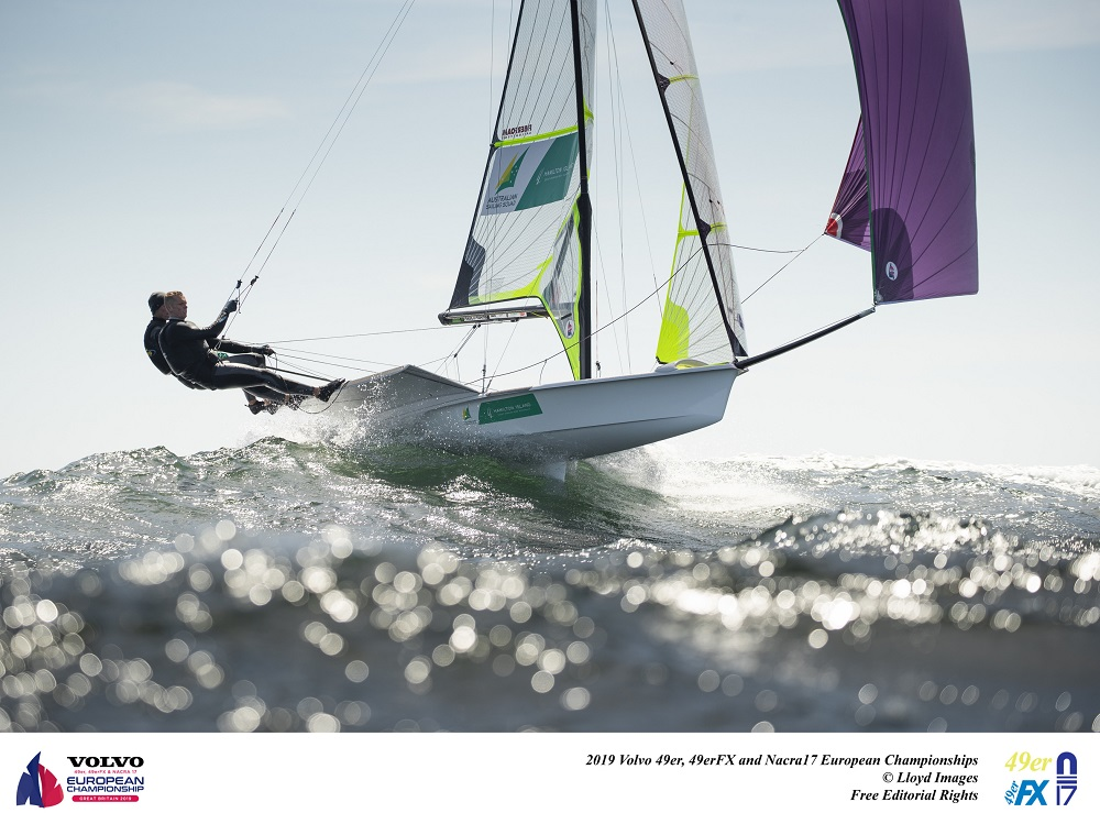 Bryant and Wilmot upwardly mobile at European Championship in Weymouth