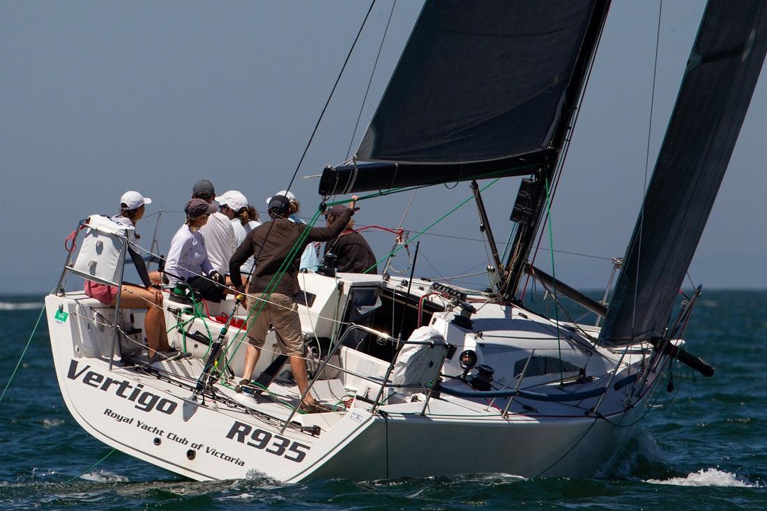 Vertigo takes IRC honours in Apollo Bay Race