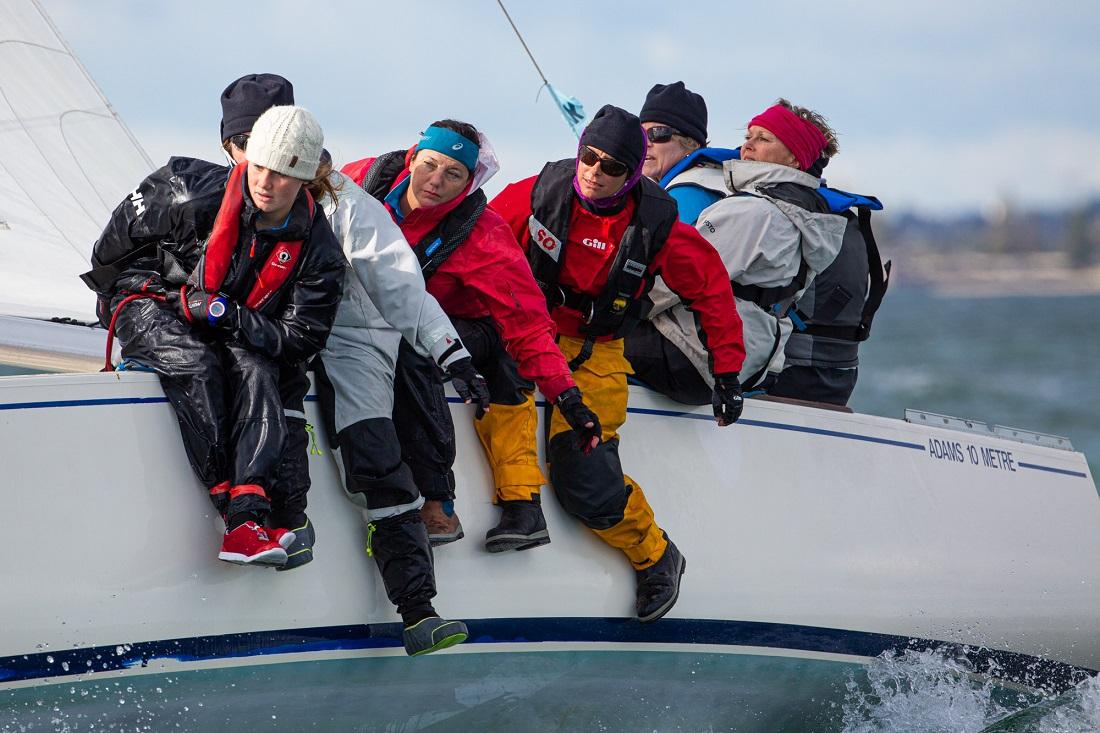 Tough final day decides winners of Australian Women's Keelboat Regatta