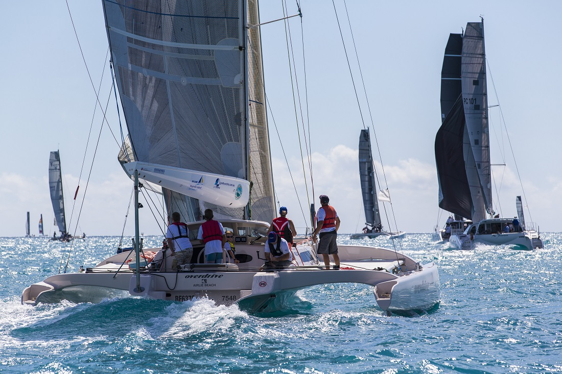 100th entry sends Airlie Beach Race Week into 'Overdrive'