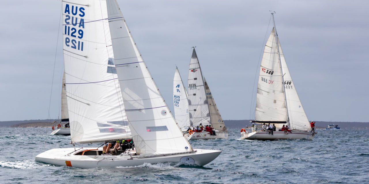 Local Etchells sailors get set for 2019 Lipton Cup Regatta