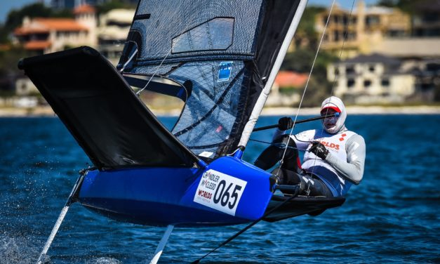 Stars shine on opening day of 2019 Chandler Macleod Moth Worlds