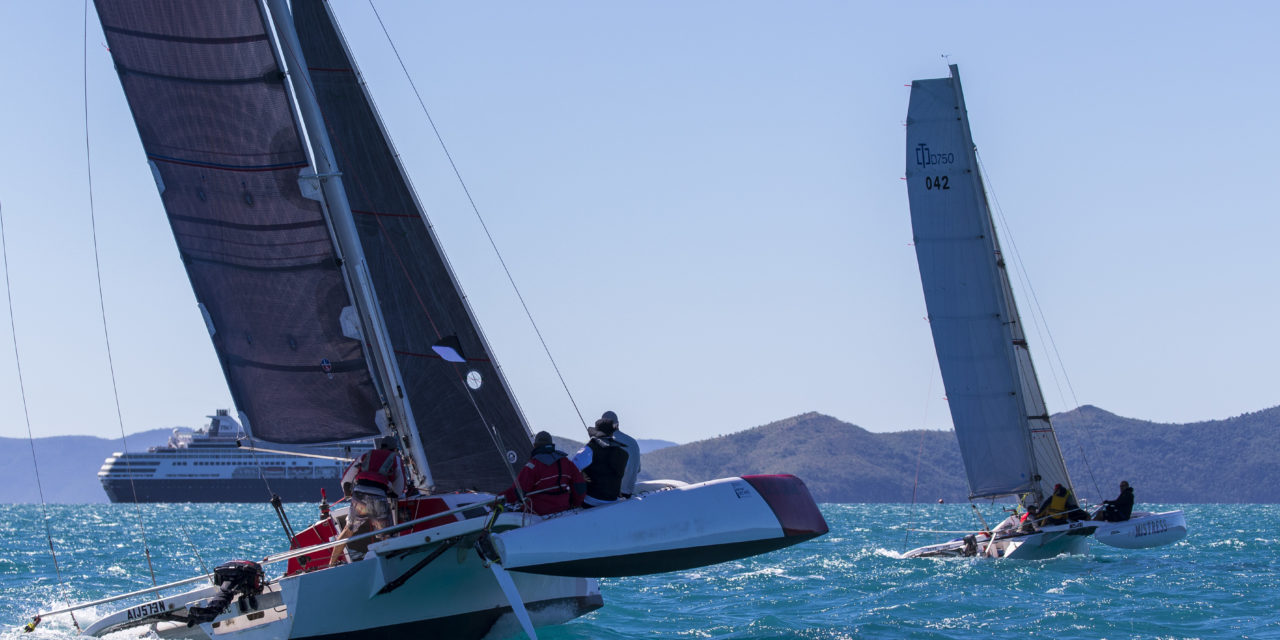 Power and the passion at Airlie Beach Race Week