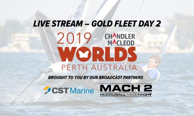 LIVE STREAM | Chandler Macleod Moth Worlds – Gold Fleet Finals
