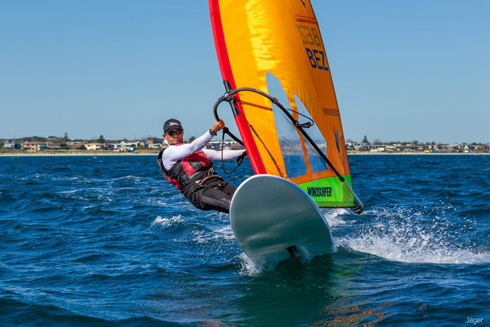 Newly-crowned world champion Nick Bez headlines Windsurfer fleet at Sail Sandy