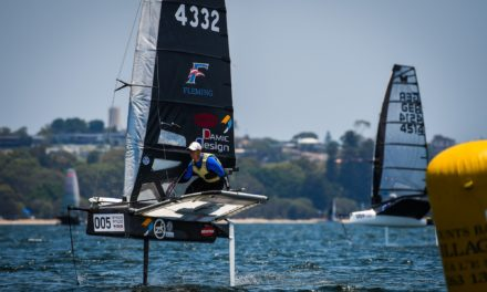 Challenging conditions and a Langford-Burton battle to close out 2019 Moth Worlds