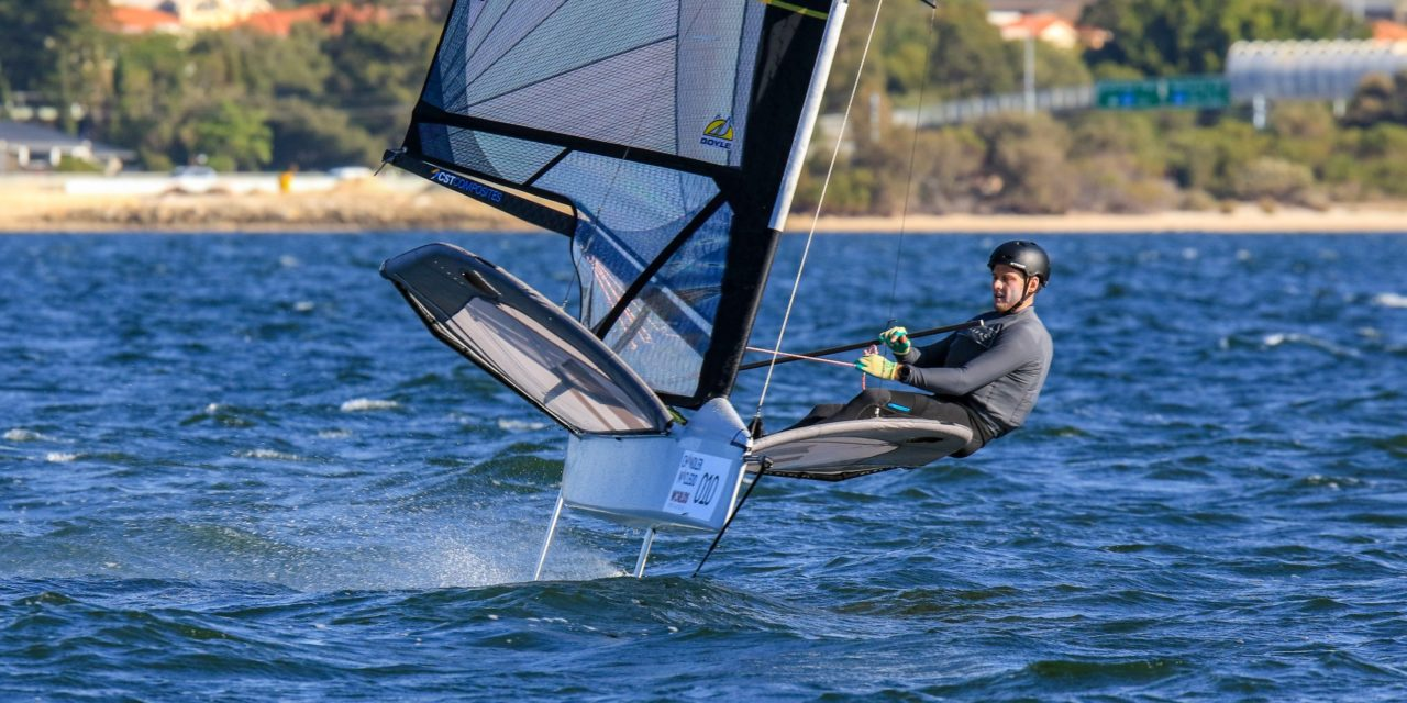 Bragging rights on the line as world's best sailors get set for 2019 Chandler Macleod Moth Worlds