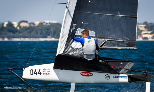 Slingsby clinches Moth World Championship with a day to spare