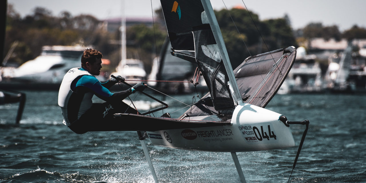 Slingsby draws first blood with first Australian Moth Title win